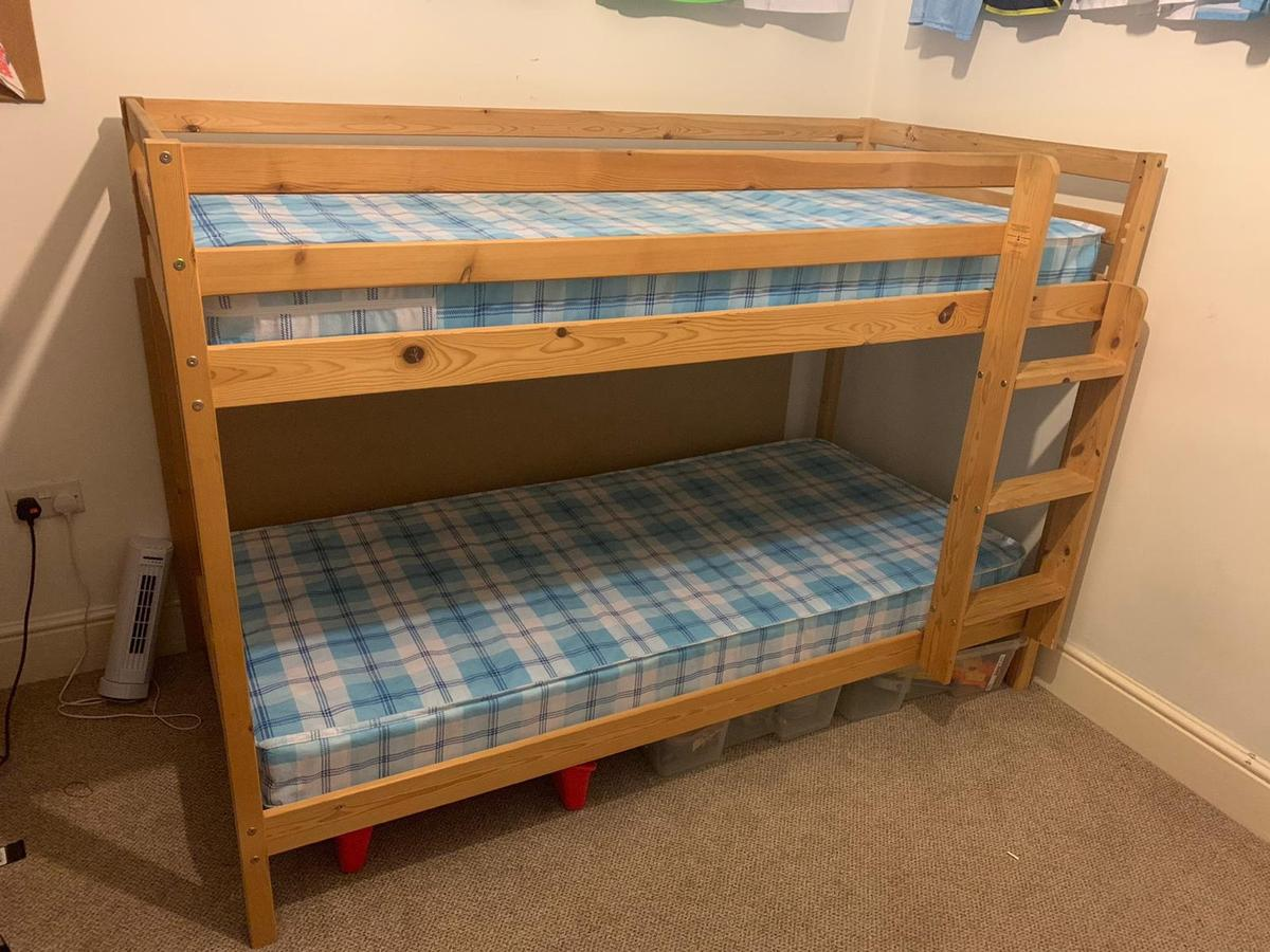 Picture of: Single Wooden Bunk Beds In Lu6 Dunstable For 40 00 For Sale Shpock
