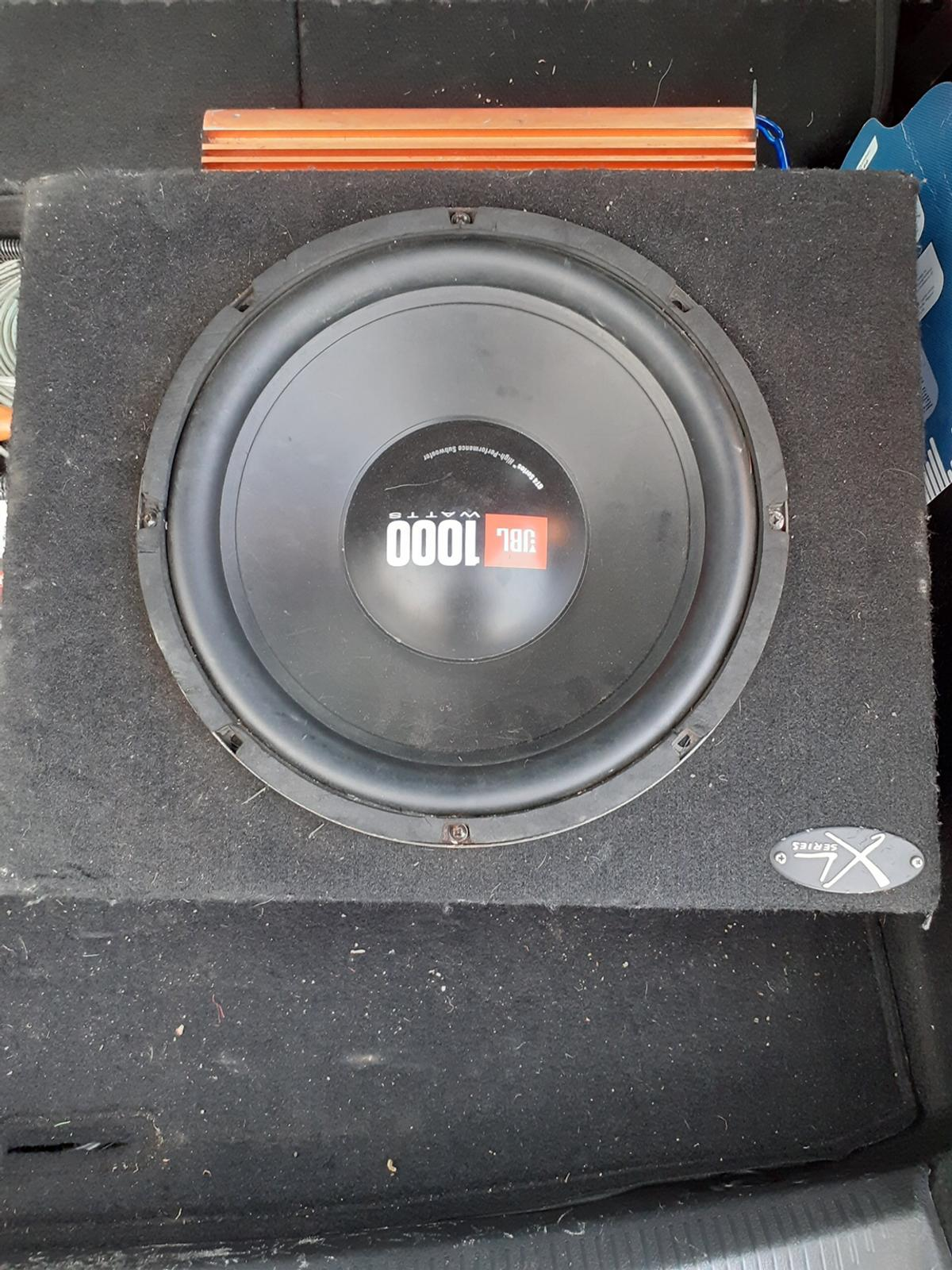 JBL Sub and Amp (wiring kit) What Wiring Do I Need For Subwoofer on