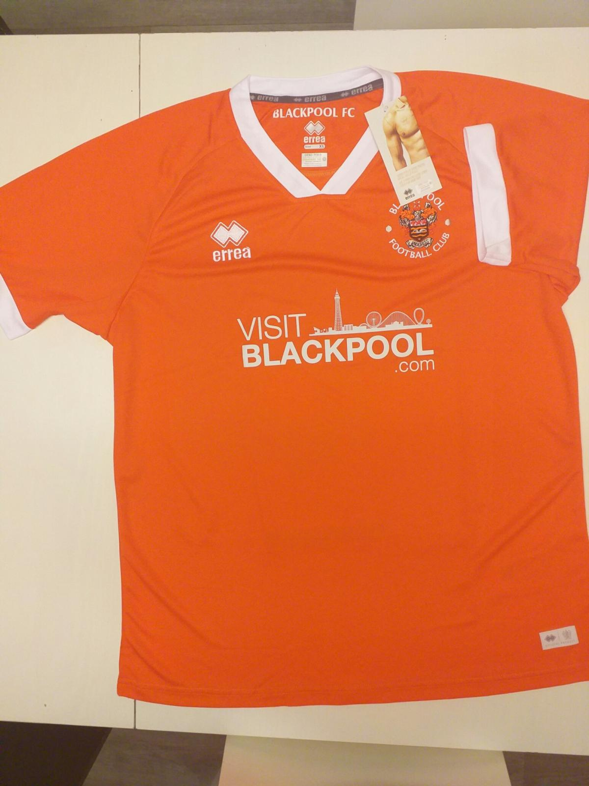 Blackpool Fc 2019 Home Kit In Fy1 Bispham For 20 00 For Sale Shpock