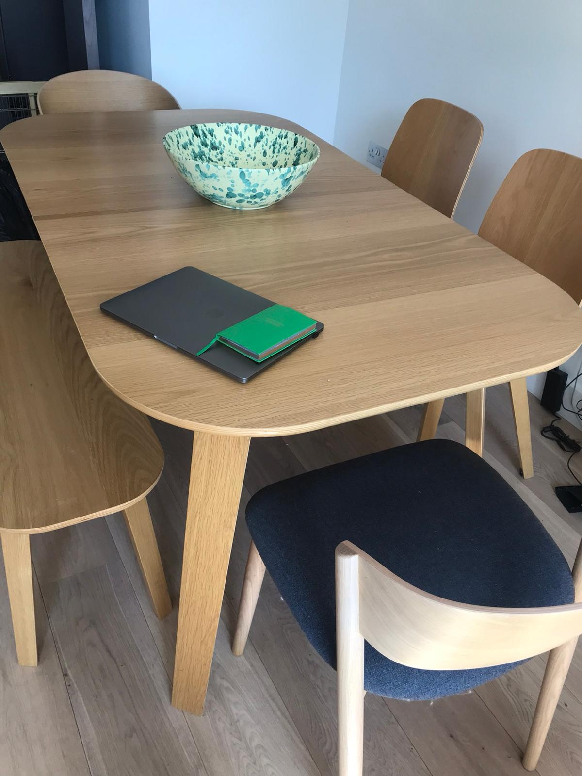 John Lewis Scandi style dining table & chairs in SW9 London ...