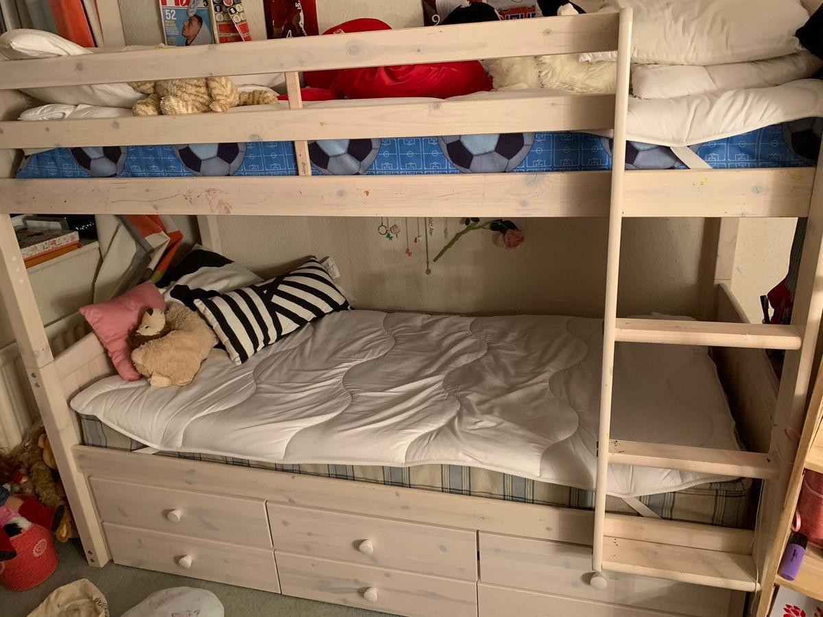Wooden Bunk Bed With Trundle And Storage In London Borough Of Bromley For 80 00 For Sale Shpock