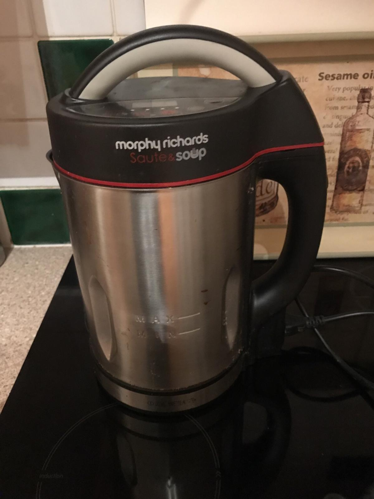 Morphy Richards Soup Maker In Sw18 Wandsworth For 19 99 For Sale Shpock Just pick your setting and set the timer, and the soup maker's sound signal will let you know when it's done. morphy richards soup maker