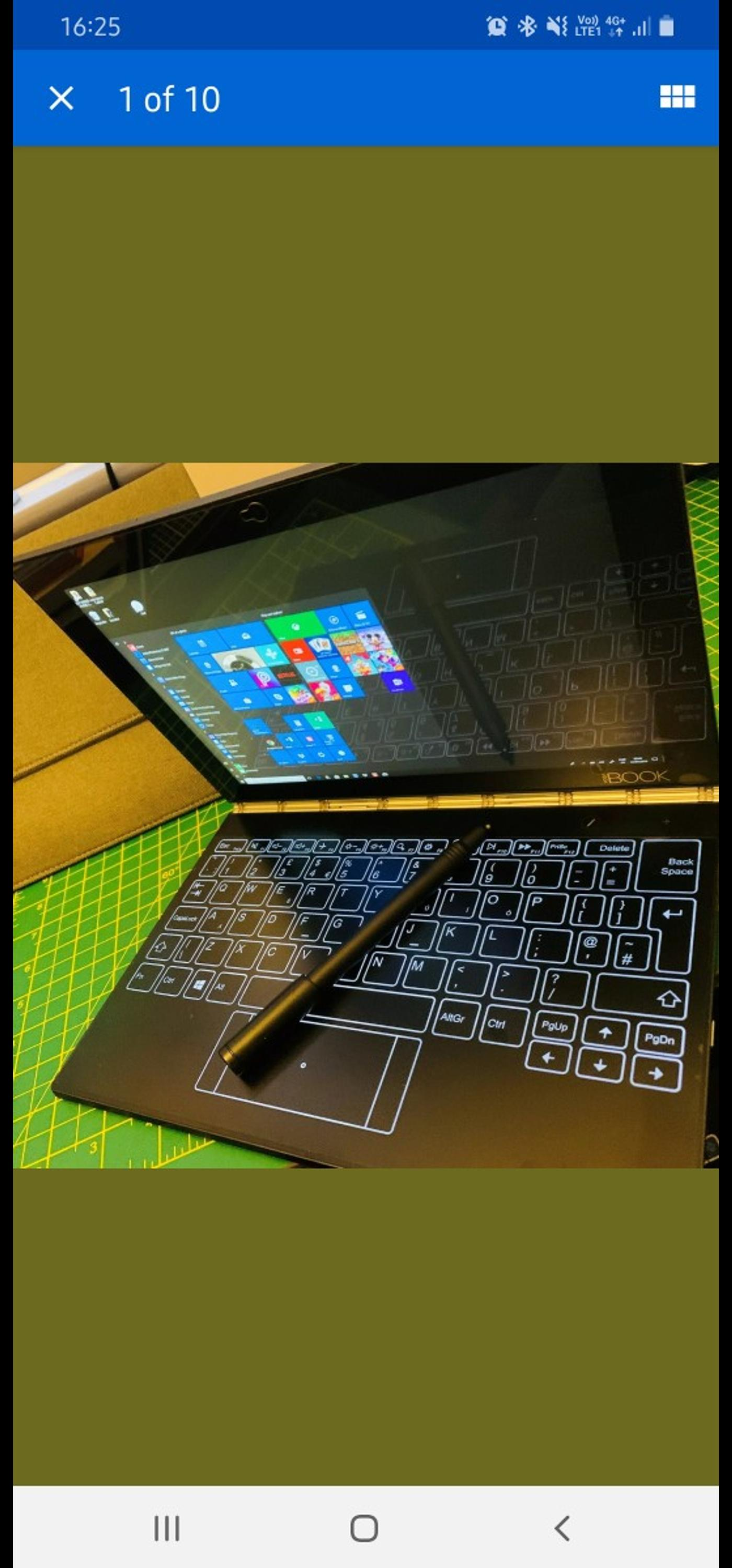 Lenovo Yoga Book Windows 10 In Sm1 London For 200 00 For Sale Shpock