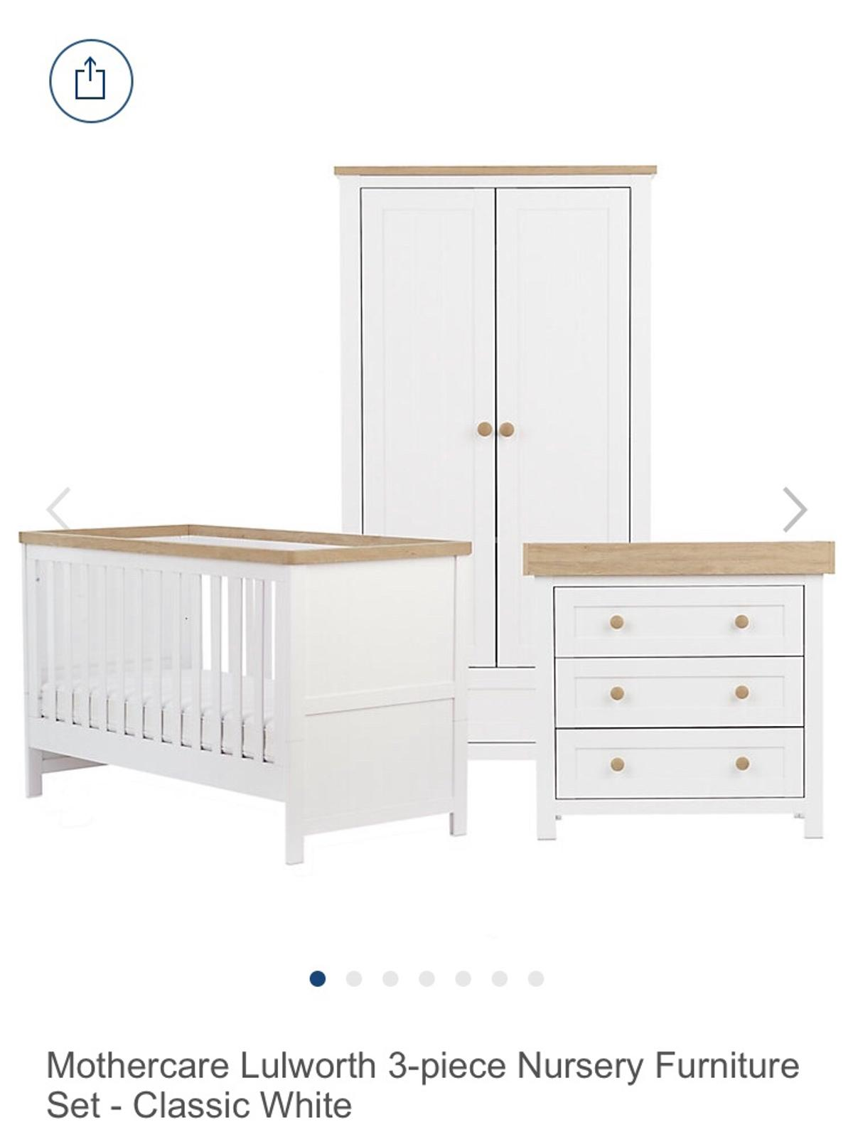 Mothercare Lulworth Nursery Furniture In S2 Sheffield For