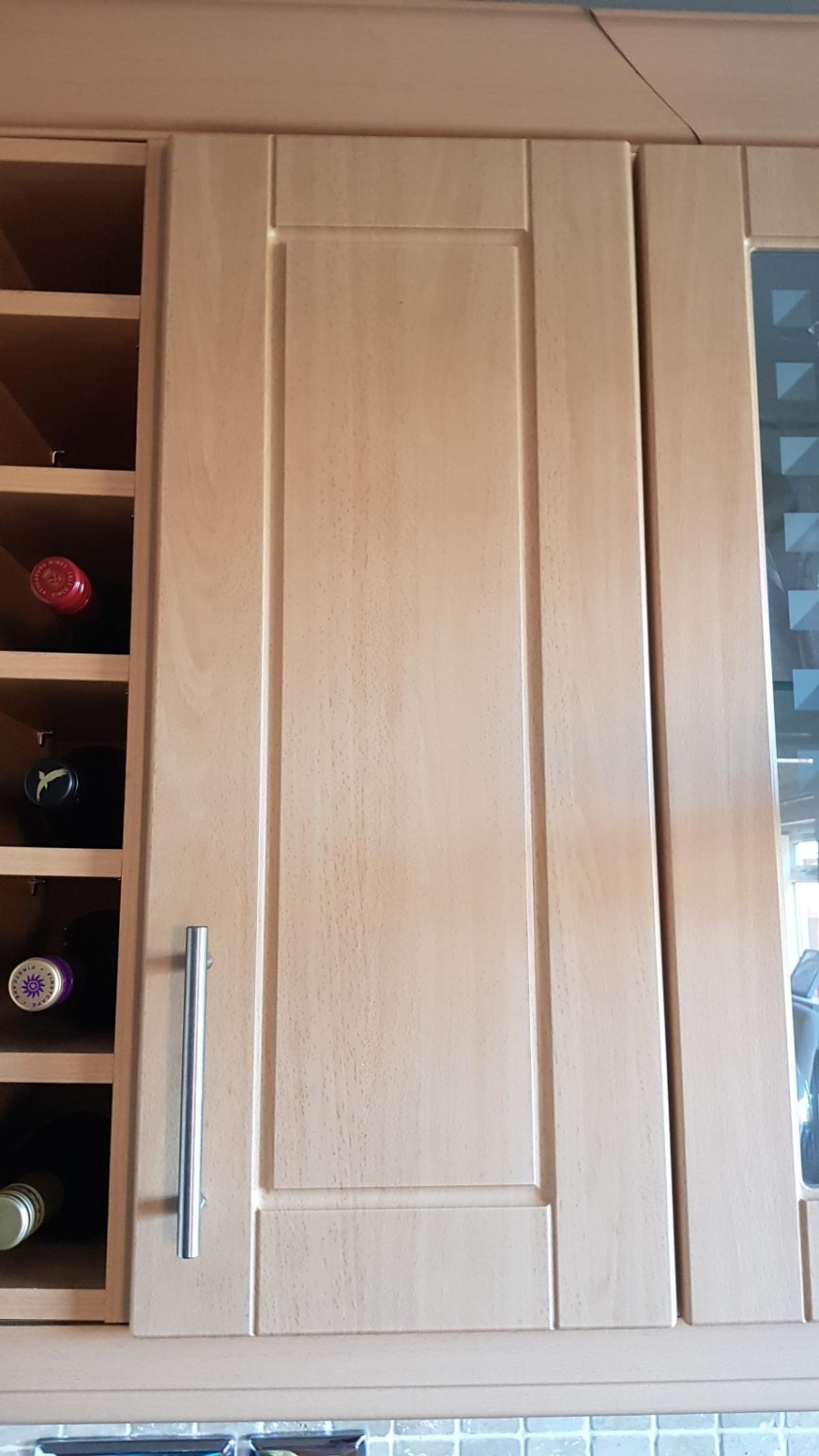 Beech Kitchen Cupboard Doors 300mm Tall B Q In Rochdale For 50 00 For Sale Shpock