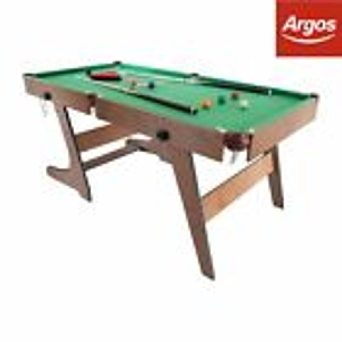 - Hy-Pro 5ft Folding Snooker And Pool Table In RH6 Banstead Für £ 40