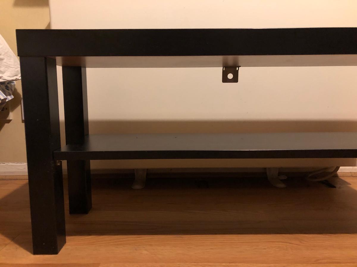 Strange Ikea Lack Tv Bench Black 90X26 Cm In Nw1 Camden For Ocoug Best Dining Table And Chair Ideas Images Ocougorg