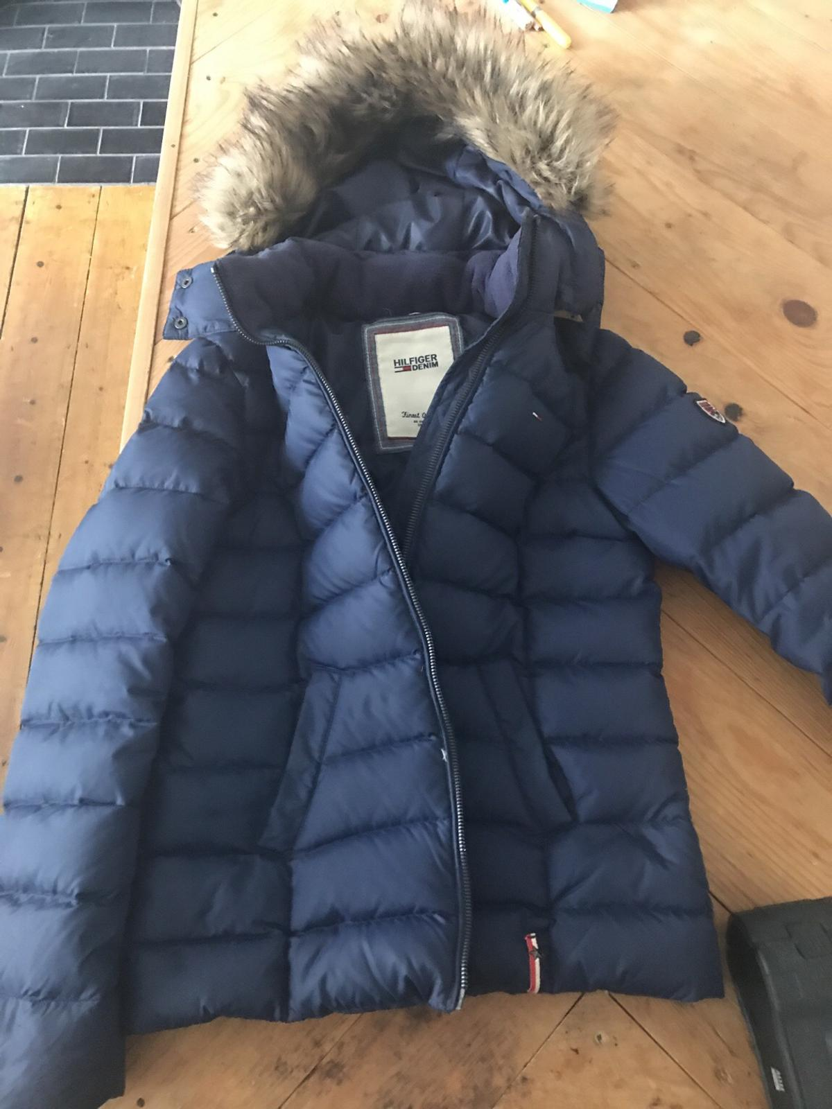 most popular uk availability huge discount Tommy Hilfiger winter puffer coat