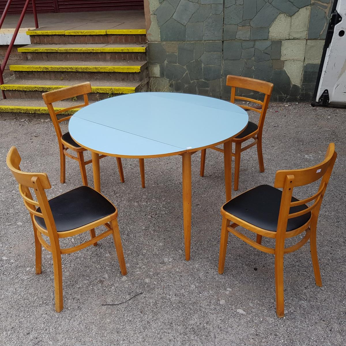 Vintage Retro Formica Dining Table Chairs In Le3 Blaby For 140 00 For Sale Shpock
