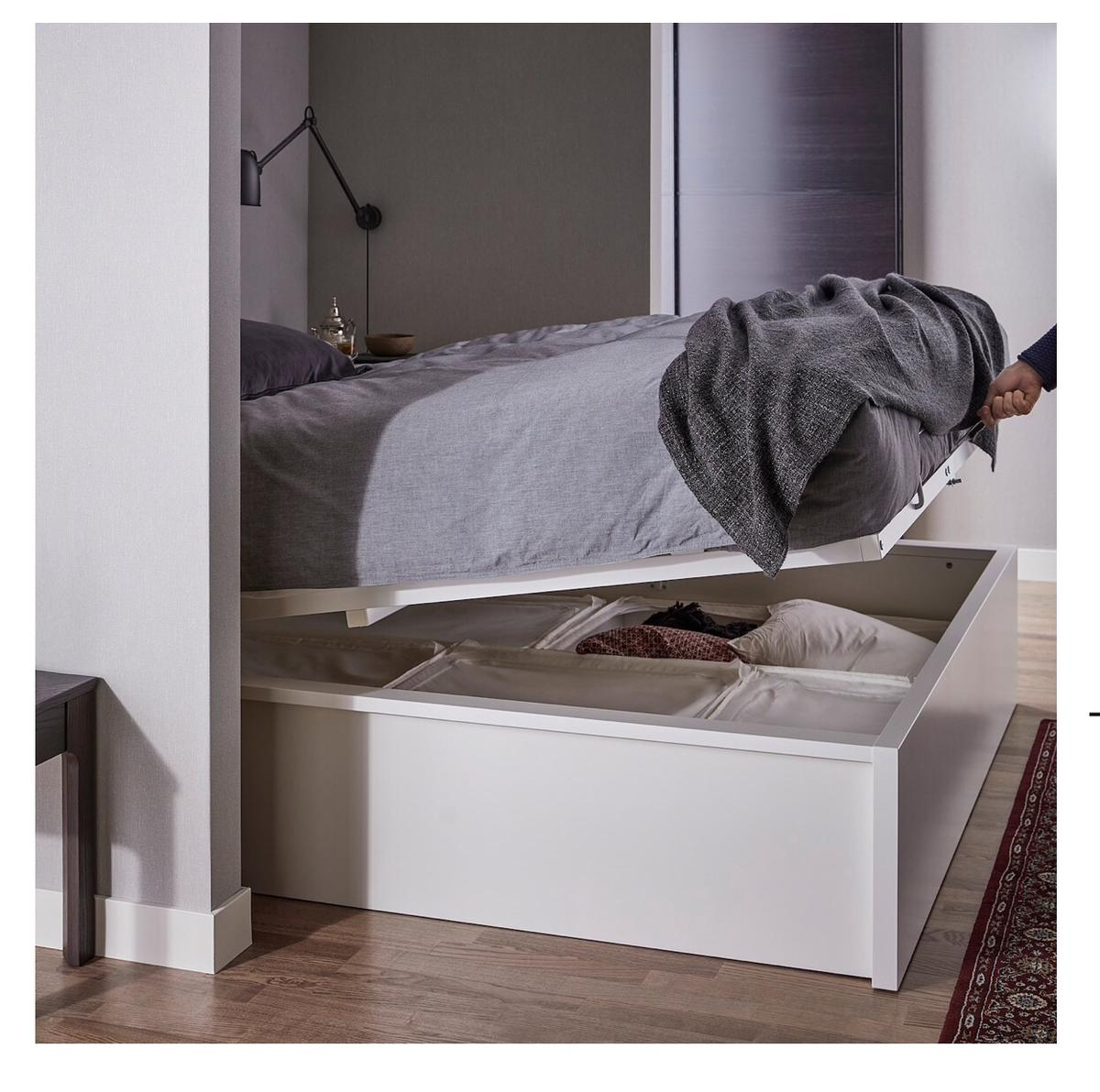 Super Ikea Malm Ottoman Bed Standard King In B70 Sandwell For Gmtry Best Dining Table And Chair Ideas Images Gmtryco