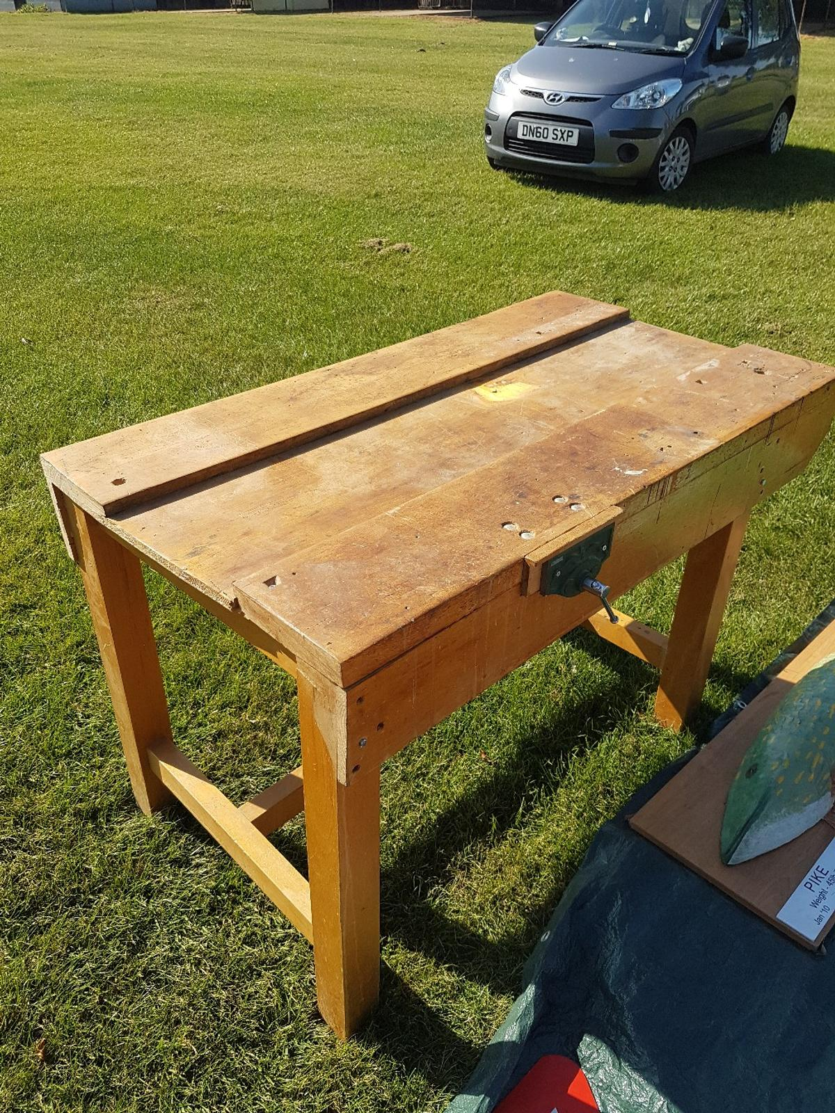 Groovy Vintage School Beech Work Bench Gmtry Best Dining Table And Chair Ideas Images Gmtryco