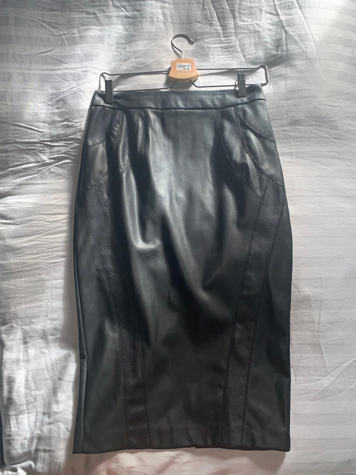 pretty nice authorized site crazy price Faux leather pencil skirt in CR3 Tandridge for £5.00 for sale | Shpock