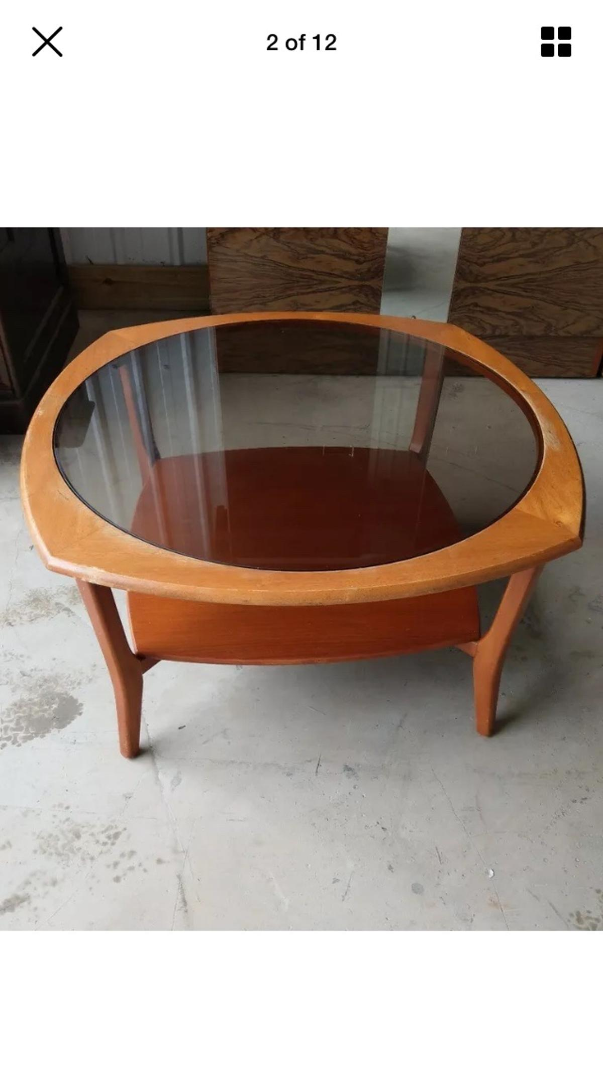 Stunning G Plan Round Coffee Table