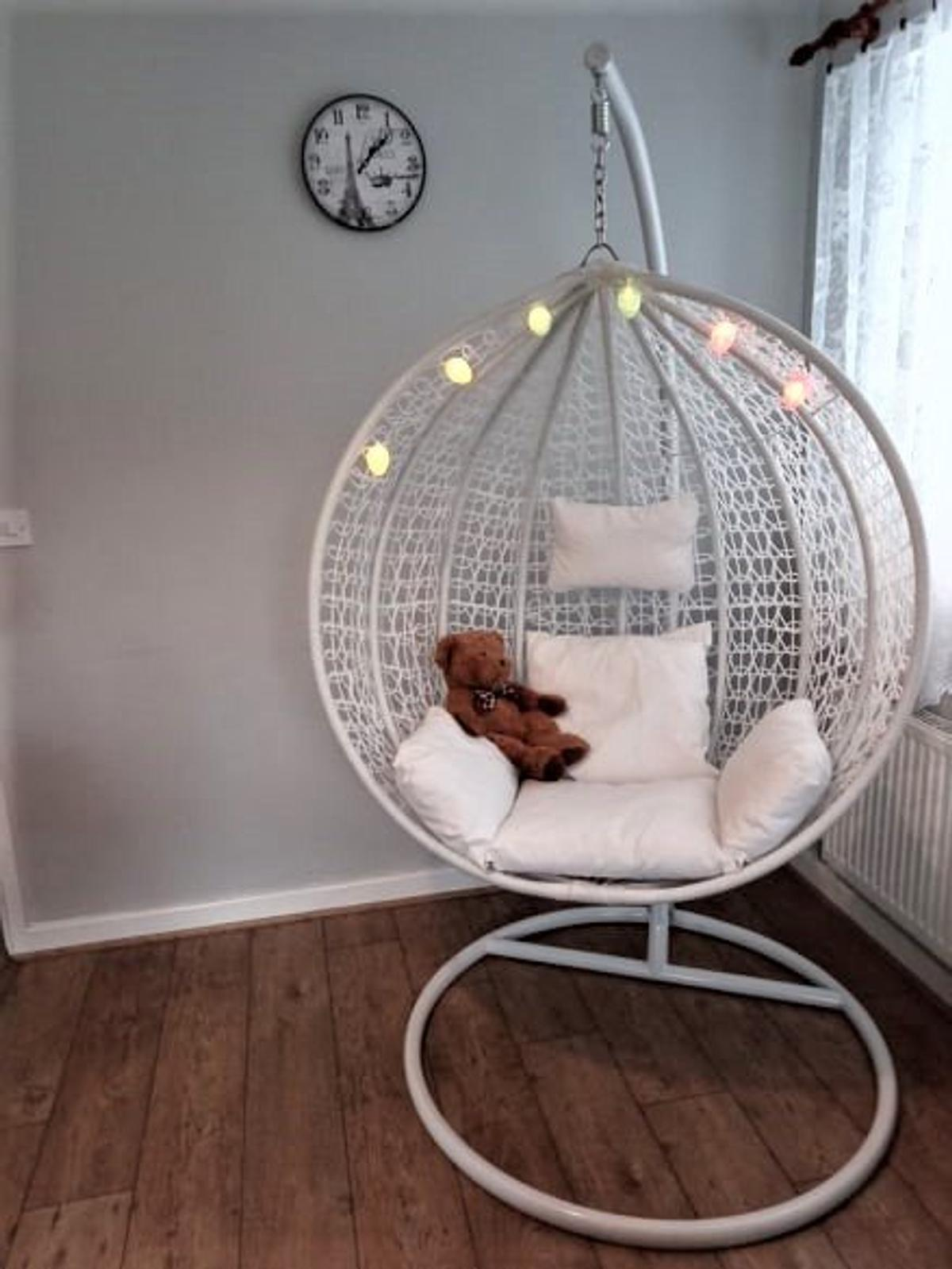 new swing egg chair  uk delivery  postage in b70
