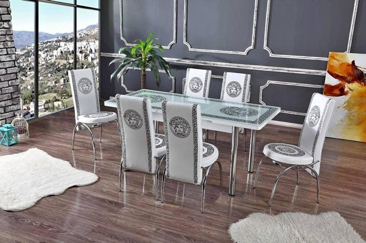 Versace Gl Extending Dining Table