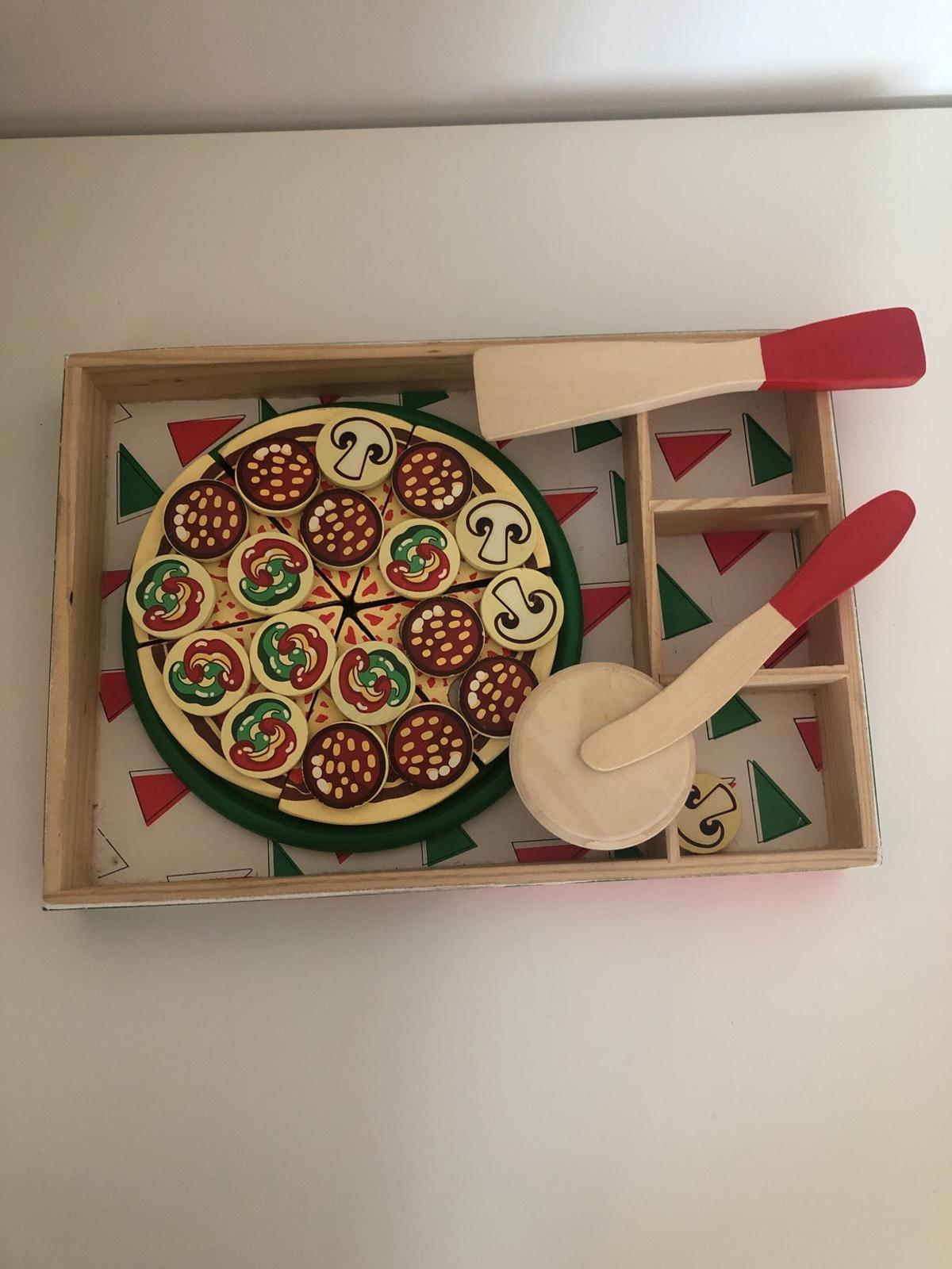 Melissa And Doug Wooden Pizza
