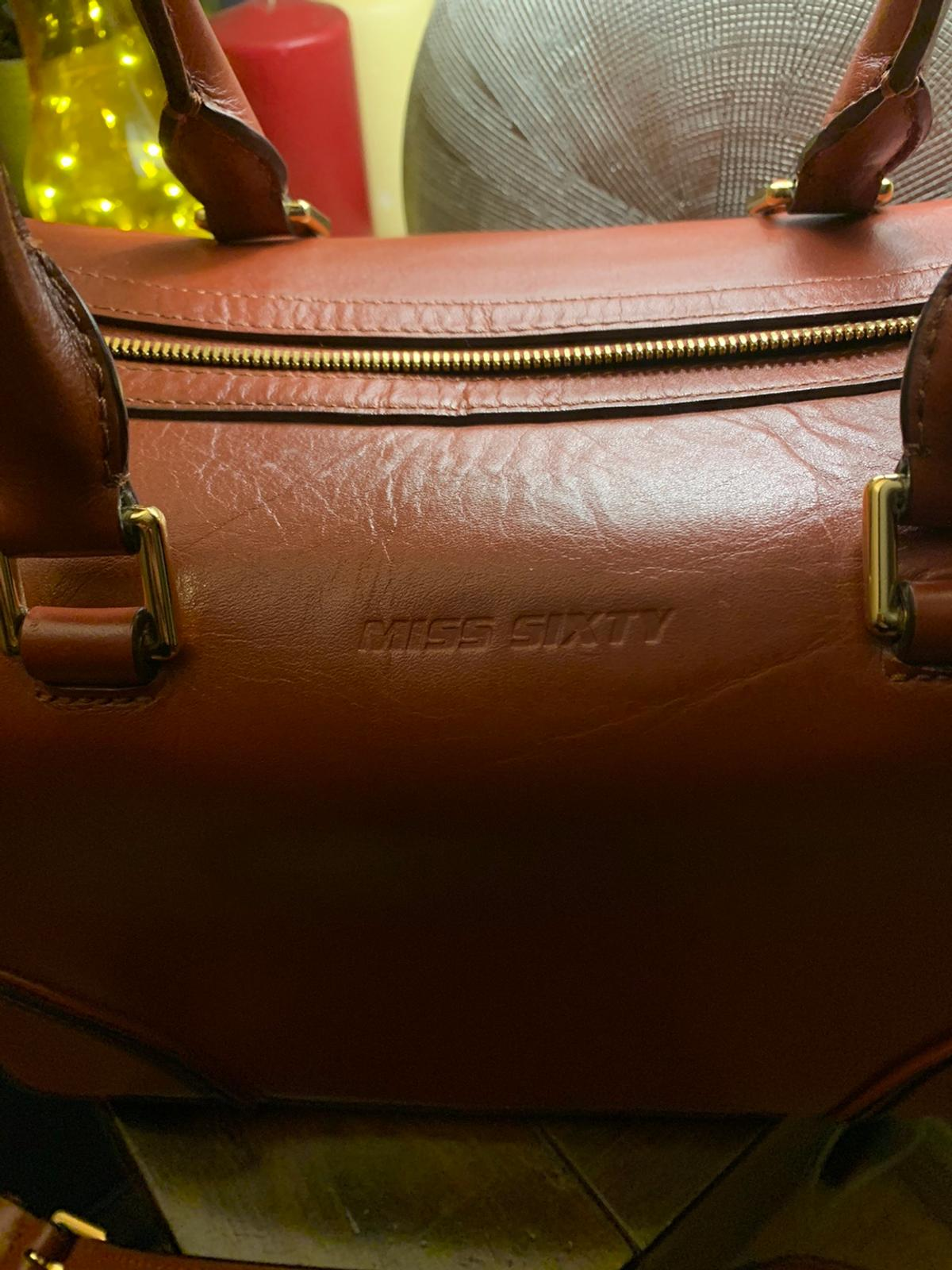 Large miss sixty leather bag in BL1 Bolton for £45.00 for