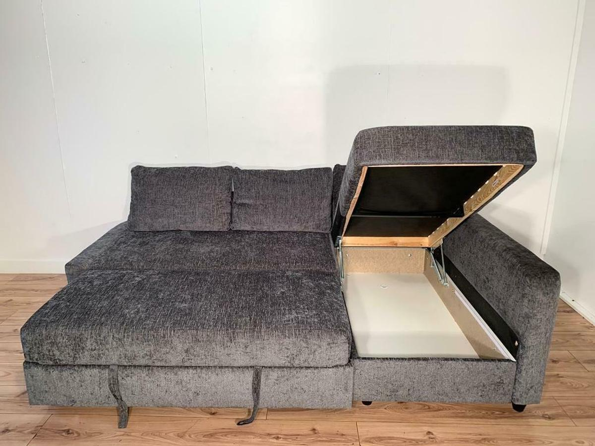 Incredible Grey Corner Sofa Bed Free Delivery Cjindustries Chair Design For Home Cjindustriesco