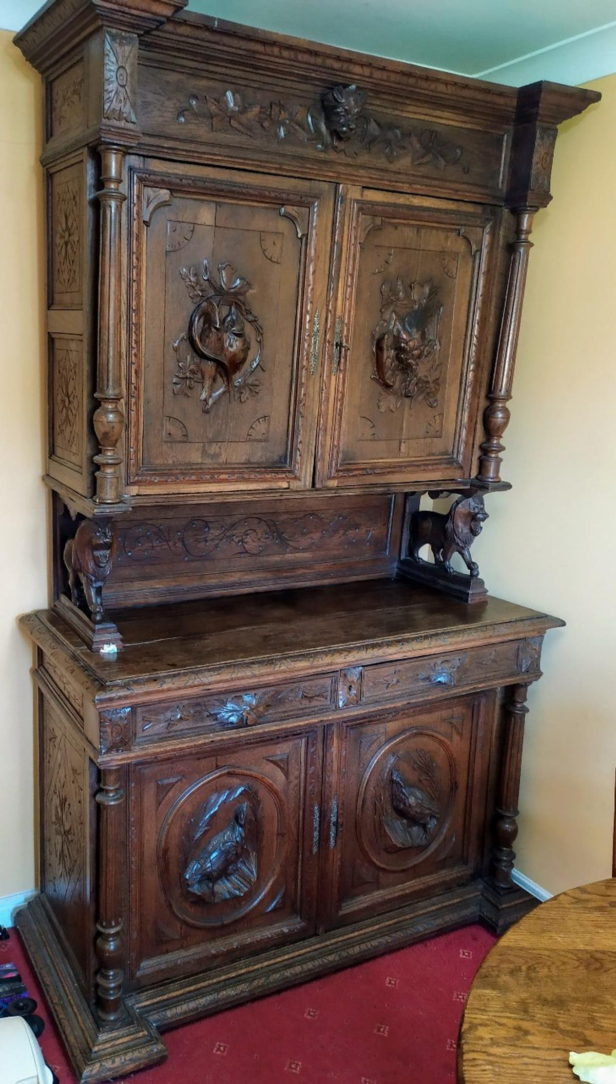 Antique French Dresser In Prees For