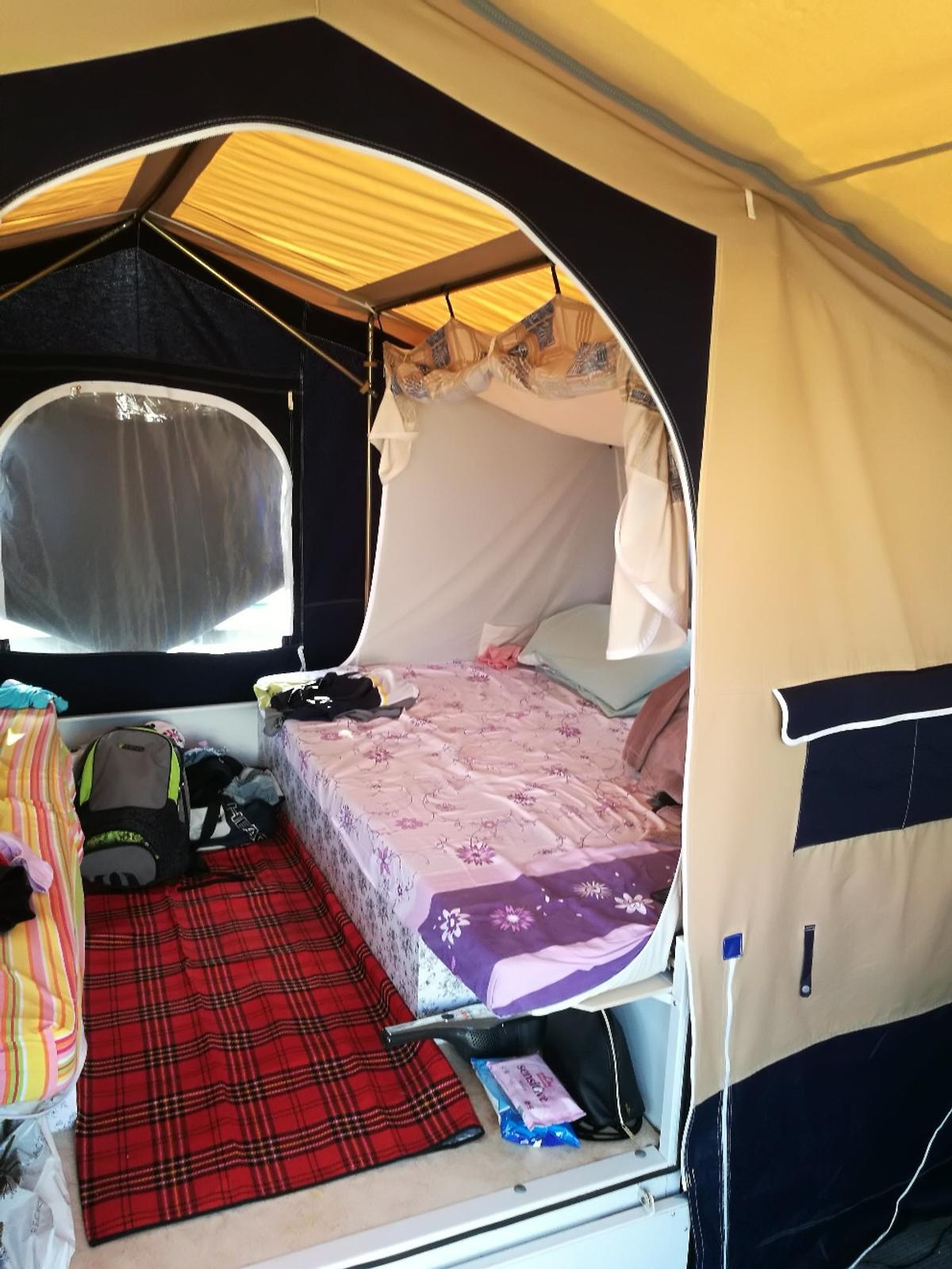 trailer tent under bed pod