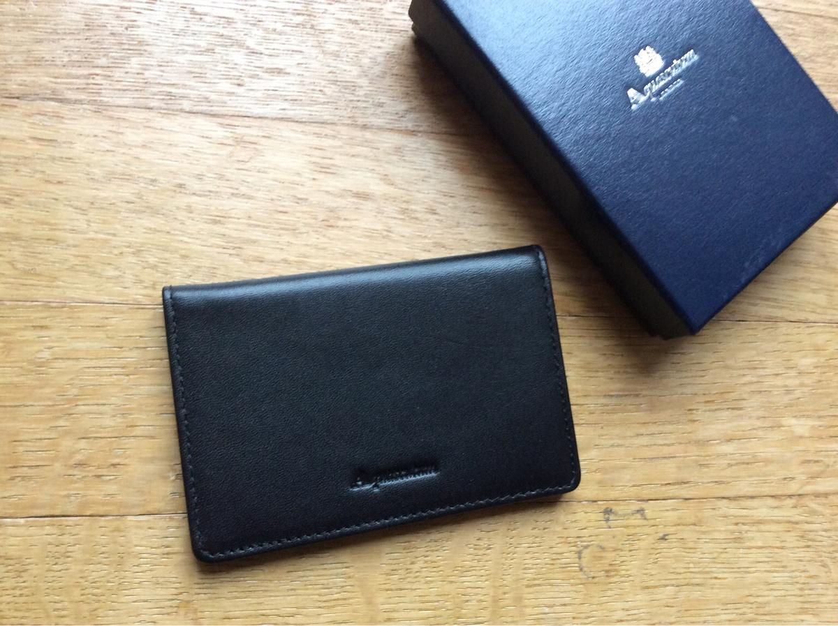 Leather business card holder. Brand new in gift box. Perfect for xmass