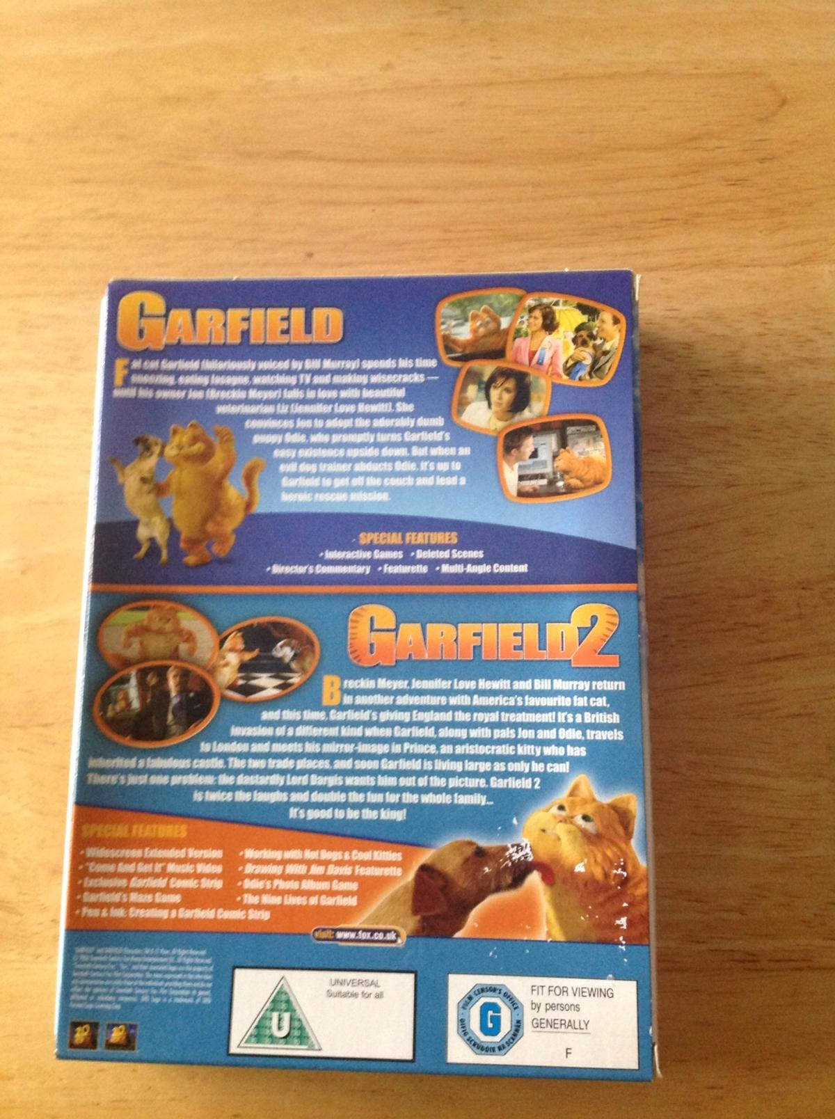 Garfield Dvd. Very good condition. Collection only Stourport area.