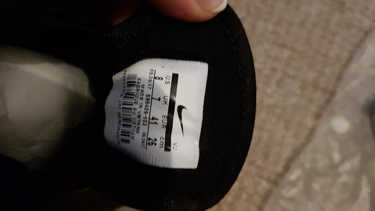 Black and White. UK 7 Brought on DH gate ordered 2 pairs instead of one.
