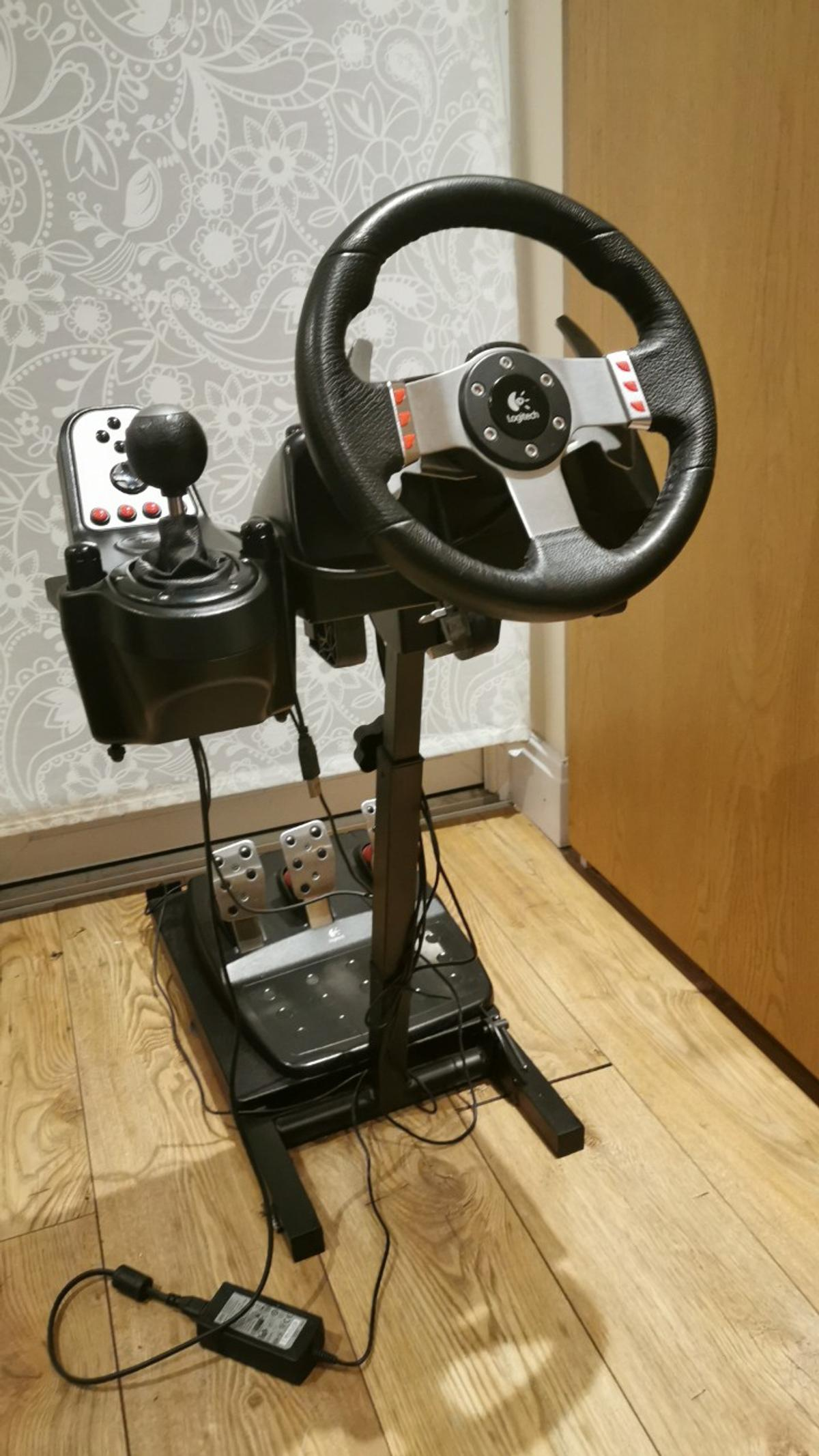 Logitech G27 Steering Wheel Pedals Stand In Ub6 Ealing For 135 00 For Sale Shpock