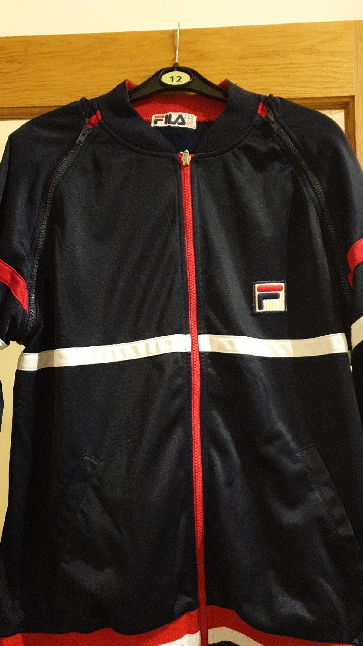 mens fila zip off arms jacket retro GB xxl great condition collection only