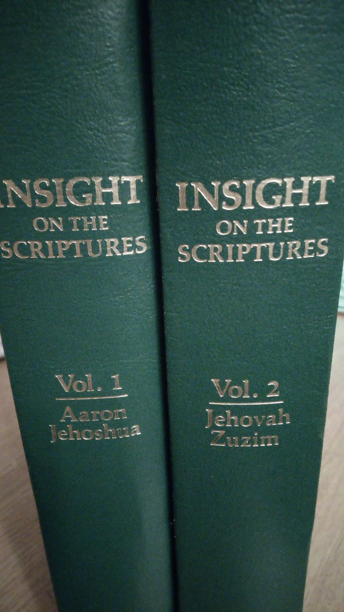 Volumes 1 and 2, big books, everything analysed in alphabetical order from the Holy Bible, names dates events, even items of historical finding are explained.