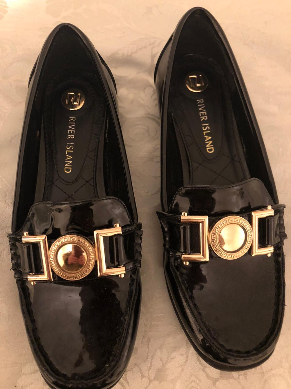 River island loafers excellent condition collection only
