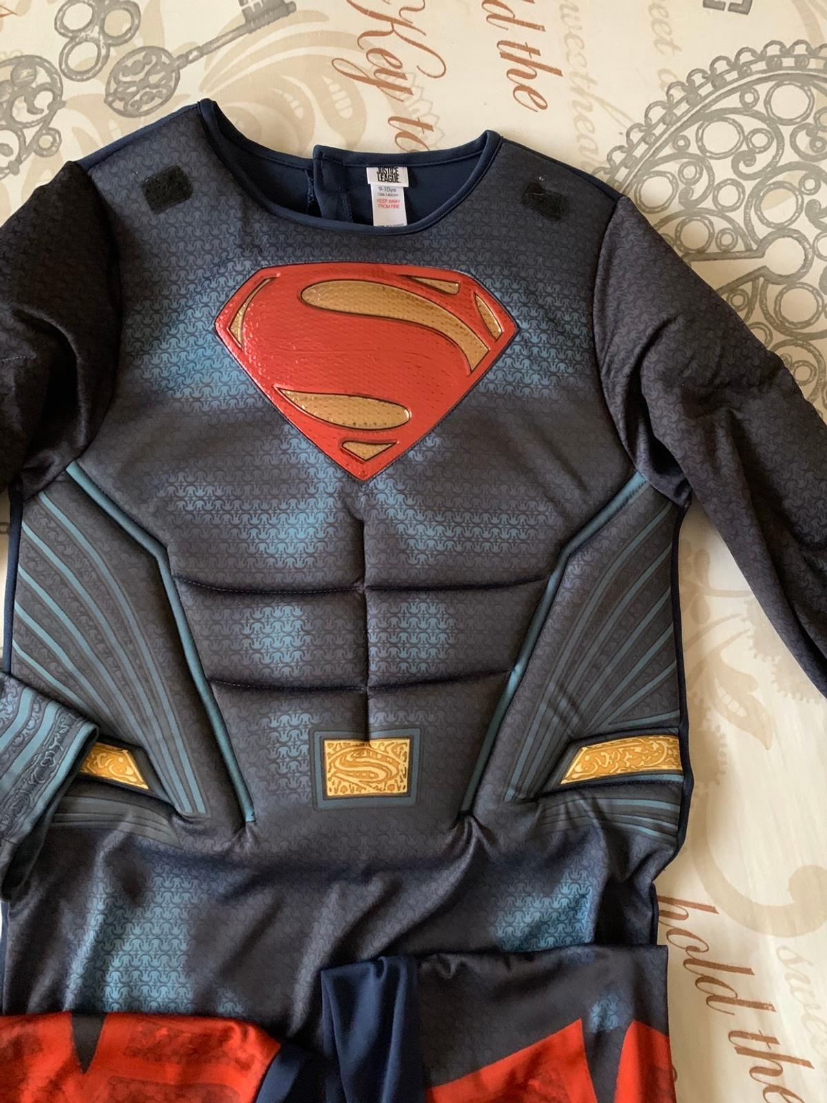 Kids Superman costume. 9/10 years old. Excellent condition. Collection from Langley. Can be posted if required.