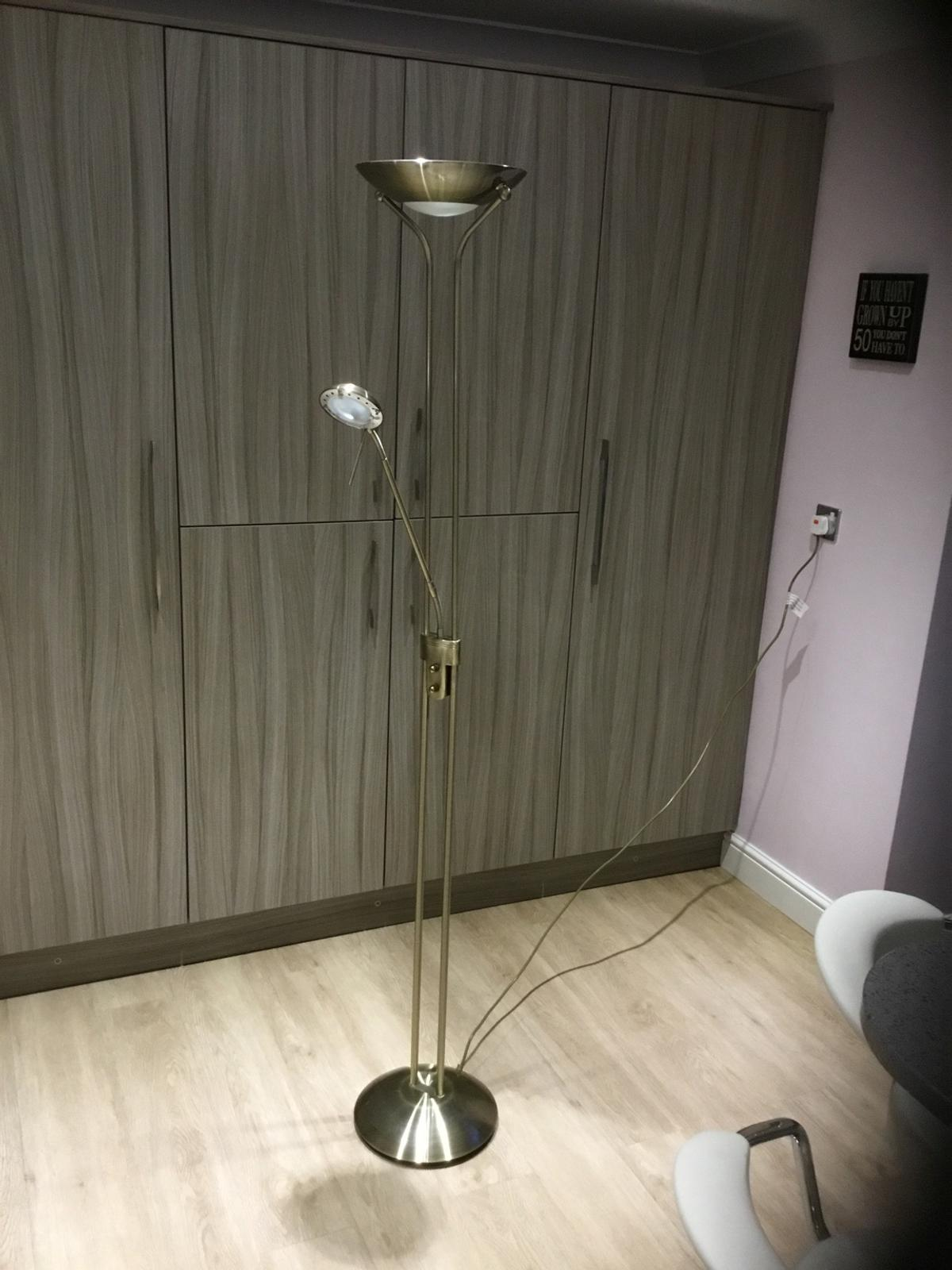 Floor Reading Lamp With Dimmer