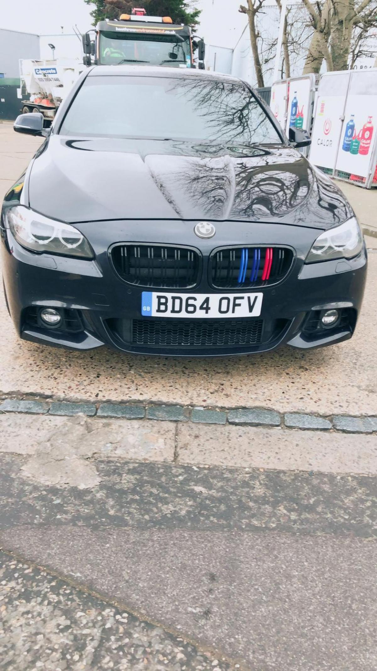 BMW 5 SERIES 525D ULEZ EXEMPT EURO 6 ONLY 59000 MILES FULLY LOADED BLACK LEATHER SEATS TINTED WINDOWS BLUETOOTH AUX BMW DOOR LOGO M SPORT 225 BHP 1 OWNER CALL 07534040900 FOR MORE INFORMATION