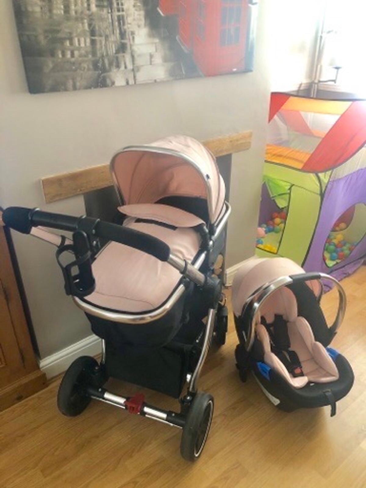 Handle Bar /& Bumper Bar Cover Set to fit the MOTHERCARE JOURNEY