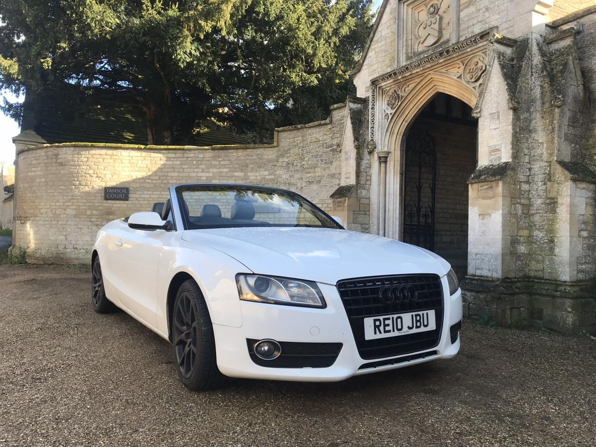 Audi A5 Convertible 2 0tdi S Line Edition In Pe8 Northamptonshire For 7 995 00 For Sale Shpock
