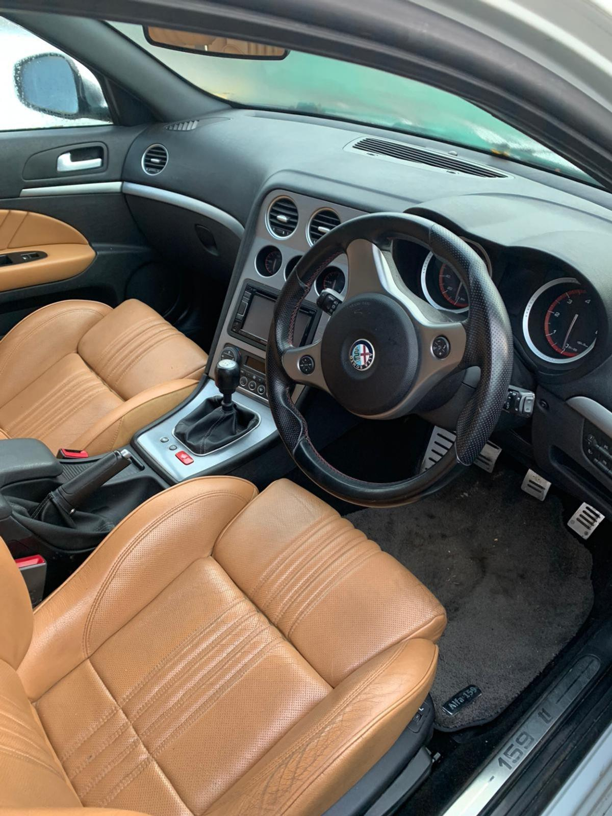 Alfa 159 Ti Tan Leather Interior For Sale I In Rh2 Banstead For 250 00 For Sale Shpock