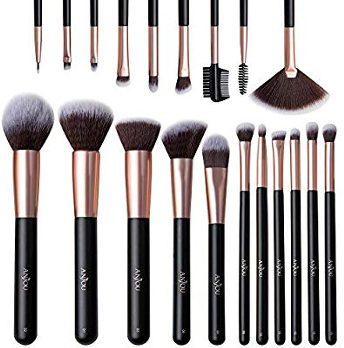 brand new 20 piece make up brushes fixed price