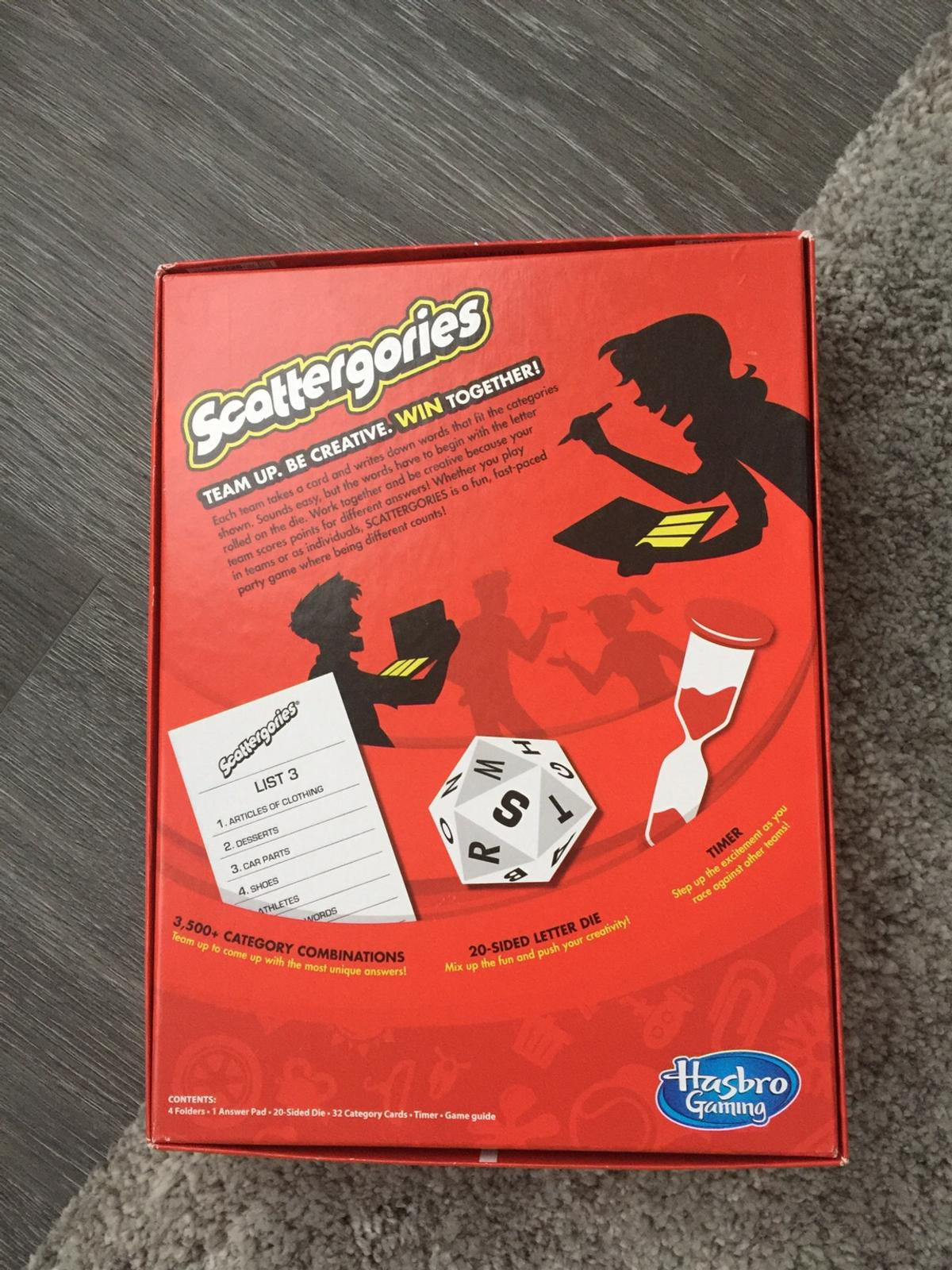 Scattergories Game In Ls27 Leeds For 6 00 For Sale Shpock