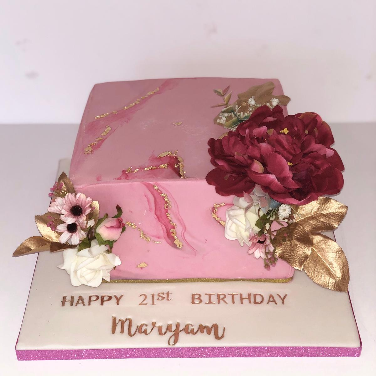 Tremendous Square Birthday Cake In B10 Birmingham For 1 00 For Sale Shpock Funny Birthday Cards Online Overcheapnameinfo