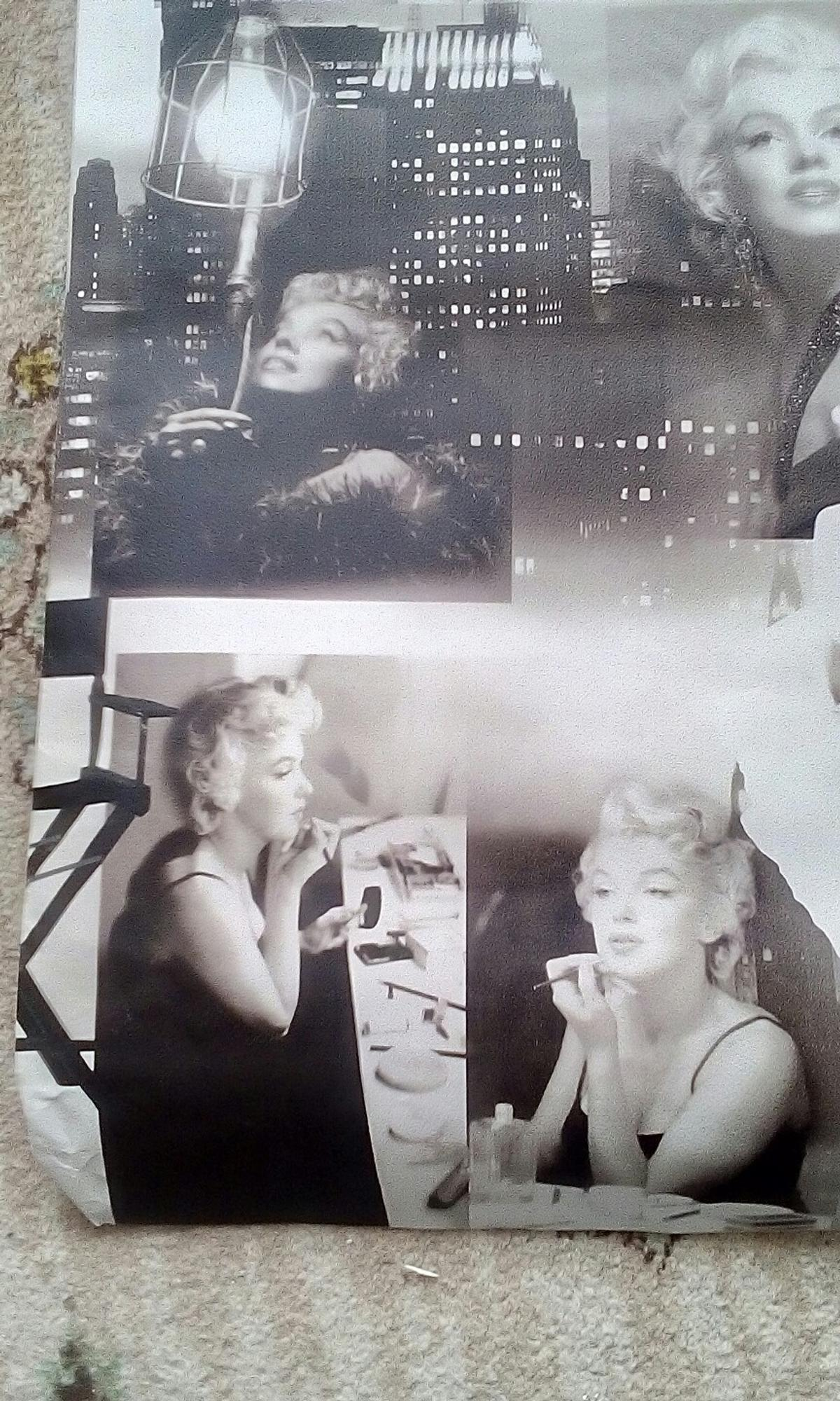 Marilyn Monroe Wallpaper In Fy2 Bispham For 4 00 For Sale Shpock