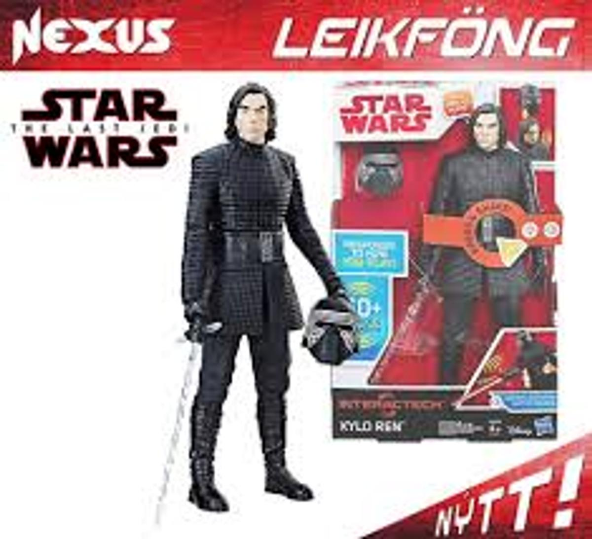 Sound /& Phrases NEW Star Wars Kylo Ren Interactech Figure W//60