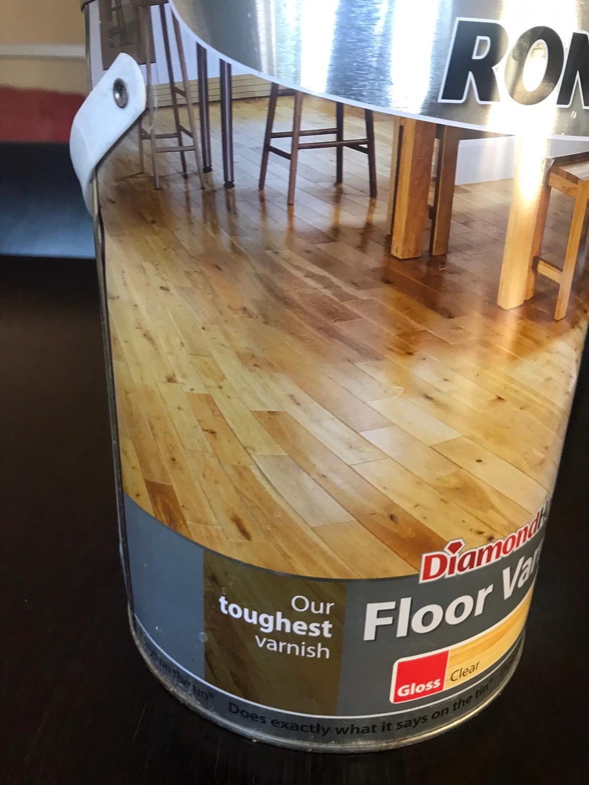 Ronseal Diamond Clear Floor Varnish 5litres In South Bucks For
