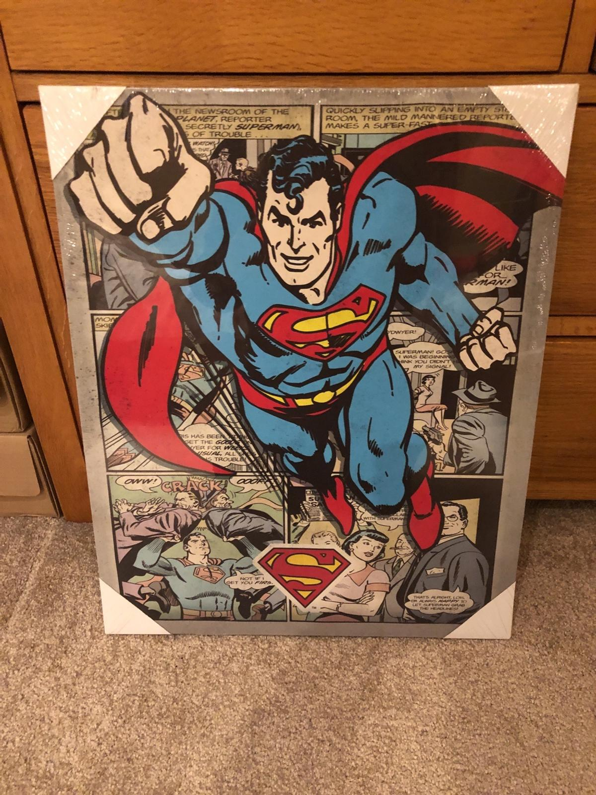 Superman Canvas In St Helens For 7 50 For Sale Shpock