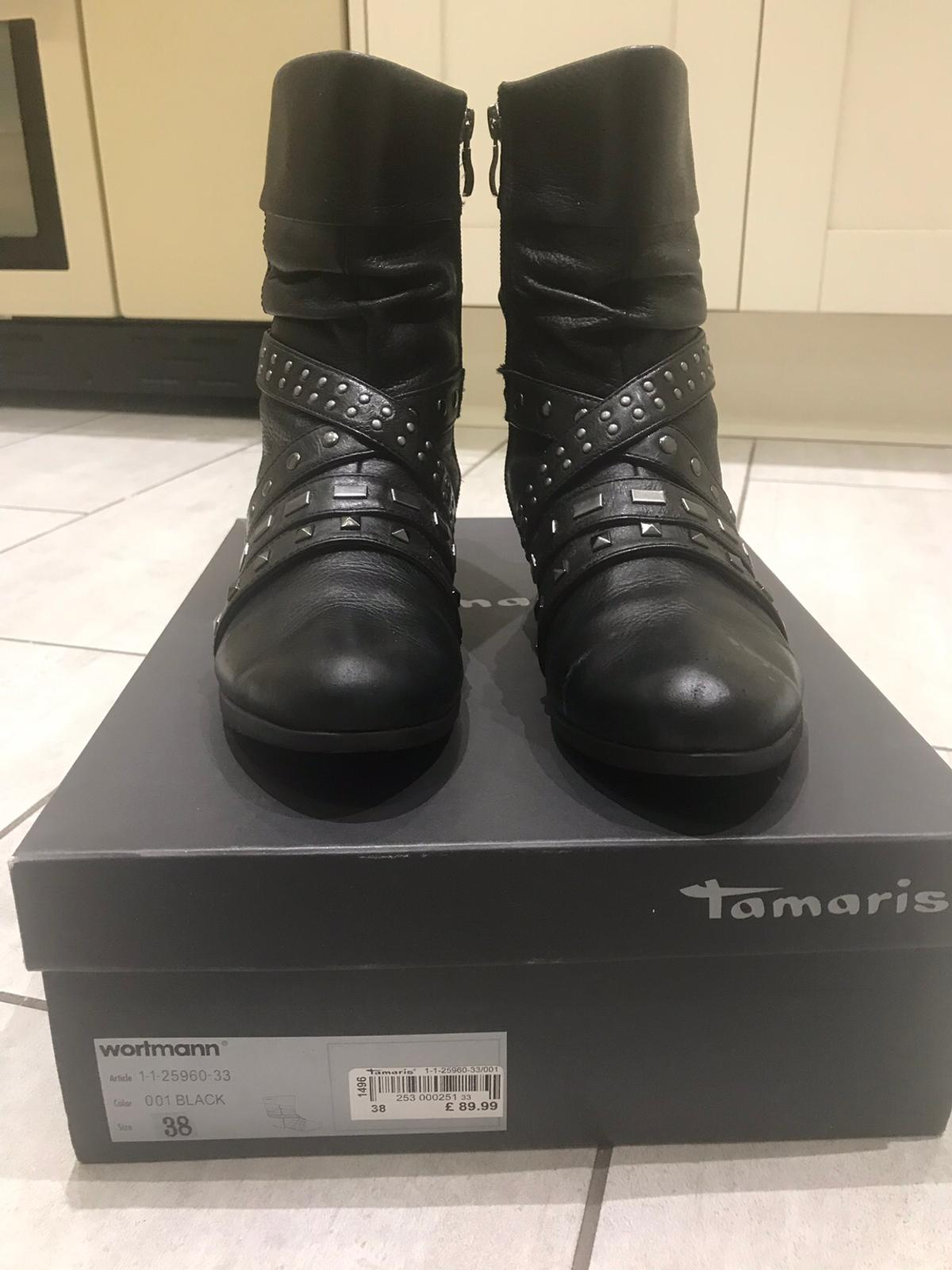 Tamaris Stud Boots in s30 Sheffield for £20.00 for sale | Shpock