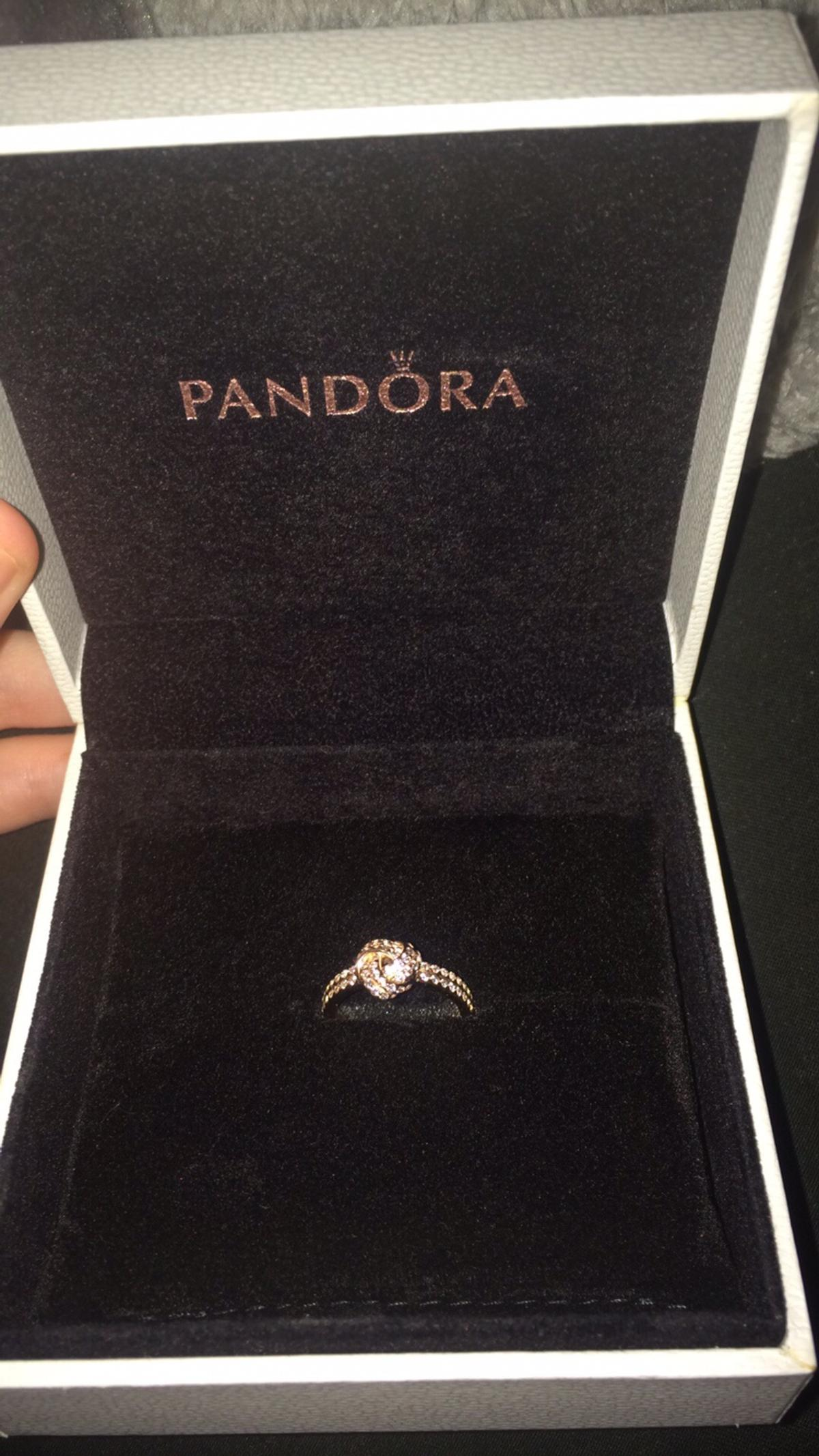 Pandora Rose Gold Shimmering Knot Ring In Sy1 Shrewsbury For 45 00 For Sale Shpock