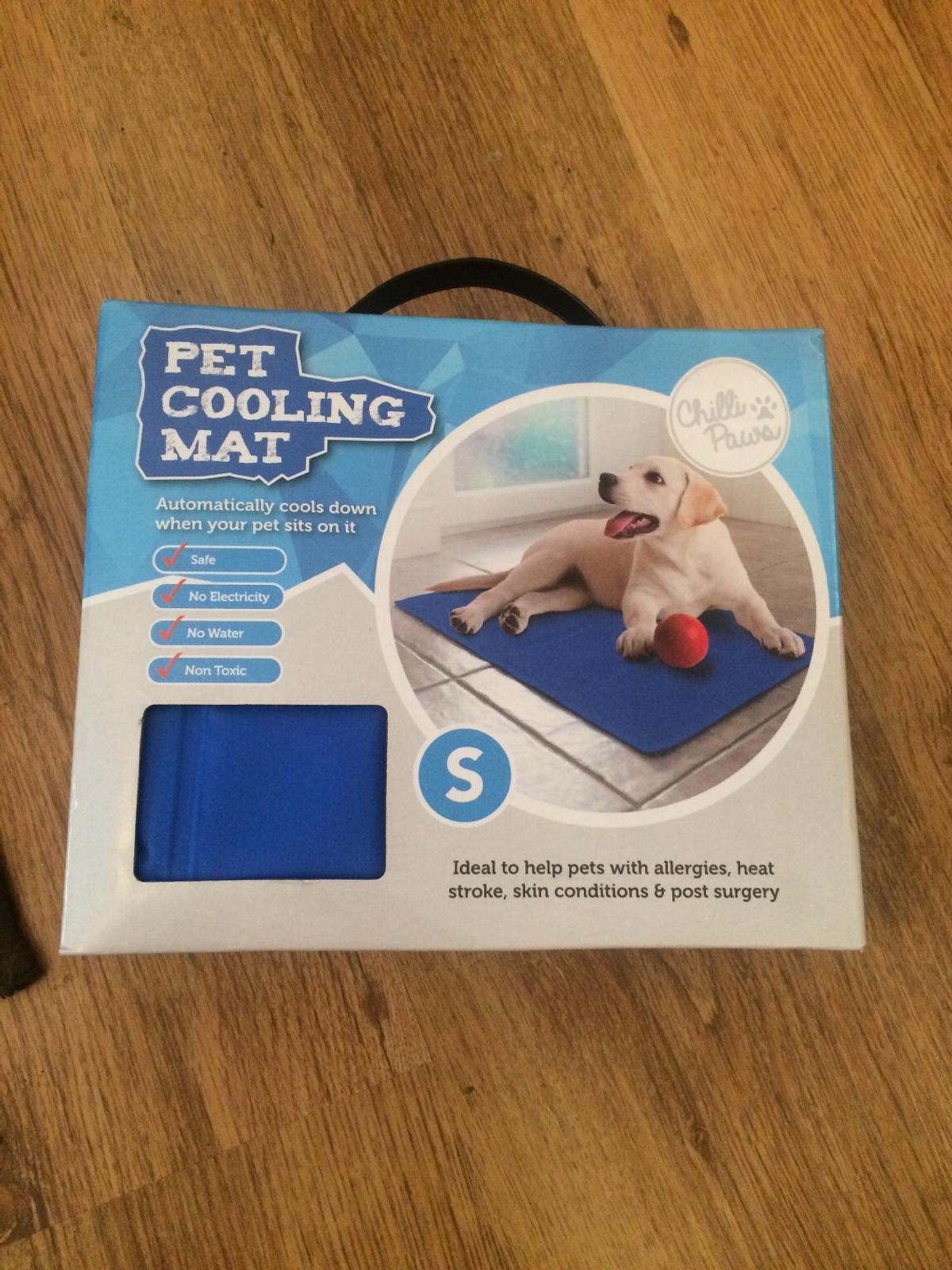 PET COOLING MAT HEAT SKIN ALLERGIES ELECTRICITY//CONDITIONS//STROKE NON TOXIC BED