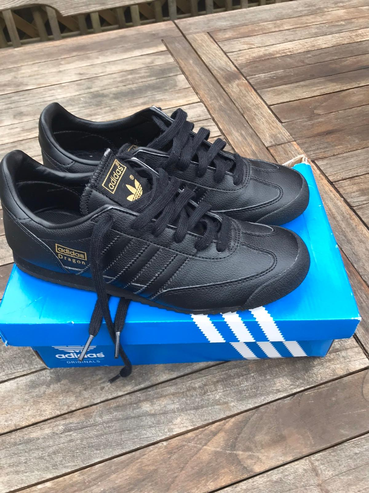 adidas dragon trainers size 5.5