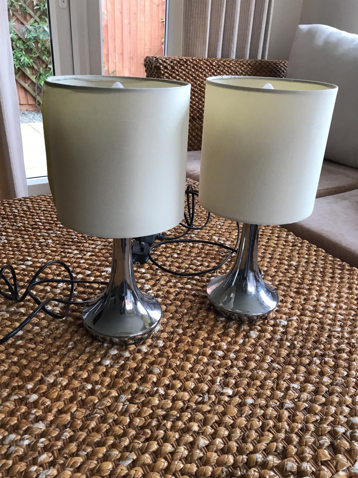 Two Touch Lamps In Le3 Leicester For 10 00 For Sale Shpock