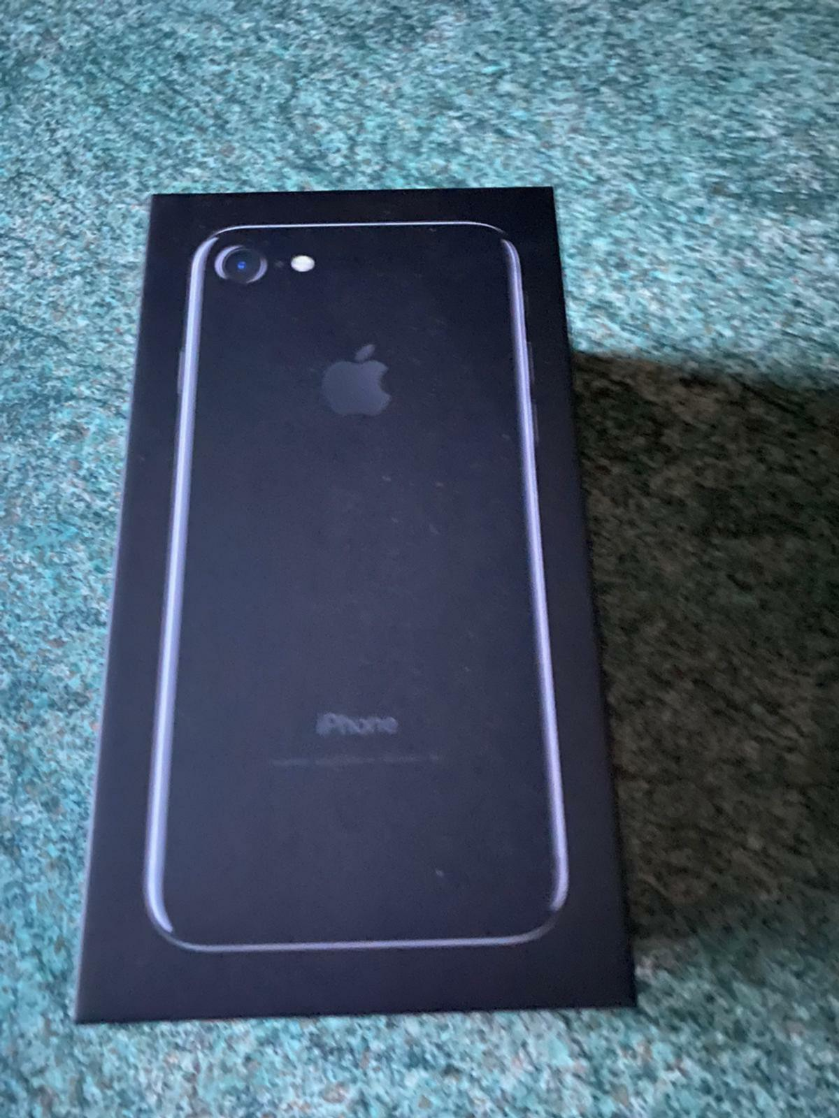 Iphone7.  Immaculate condition, no scratch or dents Comes in box with brand new original charger adapter and Earphones 128gb Unlocked to any network